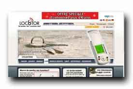 screenshot de www.loc8tor.fr