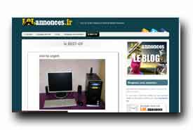 screenshot de www.lolannonces.fr