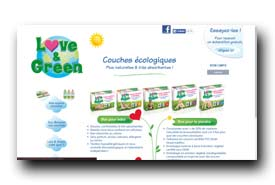 screenshot de www.loveandgreen.fr