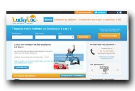 screenshot de www.luckyloc.com