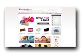 screenshot de www.ma-carte-cadeau.com