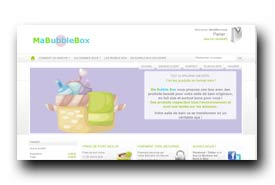 screenshot de www.mabubblebox.com