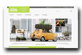 screenshot de www.macadam-gardens.fr