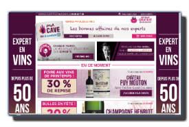 screenshot de www.macaveleclerc.fr