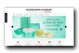 screenshot de www.madeleinemarket.com