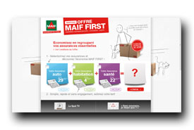 screenshot de www.maif-first.fr