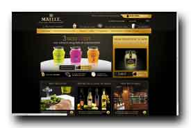screenshot de www.maille.com