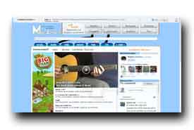 screenshot de www.malero-guitare.fr