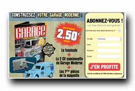 screenshot de www.maquette-garage.com