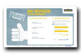 screenshot de www.marevisionaprixnorauto.fr