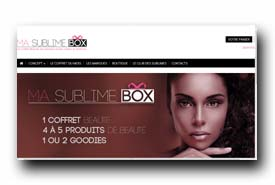 screenshot de www.masublimebox.com