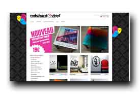 screenshot de www.mechantvinyl.com