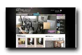 screenshot de www.metal-decor.fr