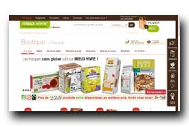 screenshot de www.mieux-vivre.com