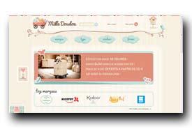 screenshot de www.milledoudou.com