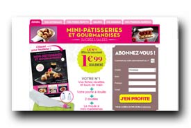 screenshot de http://www.mini-patisserie.com