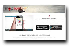 screenshot de www.mobeye-app.com