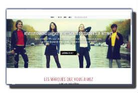 screenshot de www.modali.fr