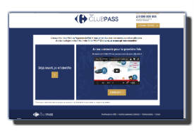 screenshot de www.monclubpass.fr
