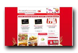 screenshot de www.monamiefrancine.com