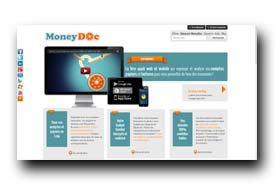 screenshot de www.moneydoc.fr