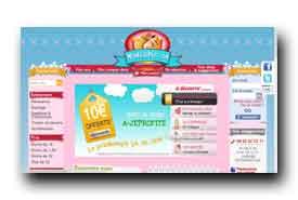 screenshot de www.monfairepart.com
