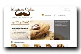 screenshot de www.moustachecookies.fr