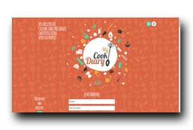 screenshot de www.mycookdiary.com
