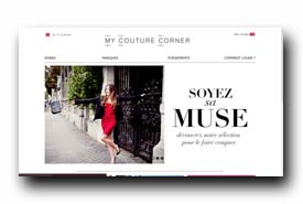screenshot de www.mycouturecorner.com