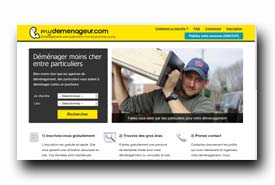screenshot de www.mydemenageur.com