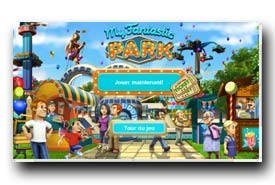 screenshot de www.myfantasticpark.fr