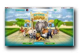 screenshot de www.myfreezoo.fr