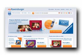 screenshot de www.myravensburger.com