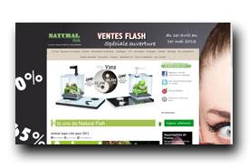 screenshot de www.naturalfish.fr