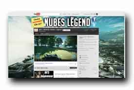 screenshot de www.youtube.com/user/NubesLegend