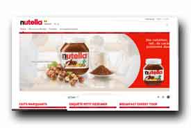 screenshot de www.nutella.be/fr/