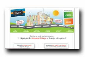 screenshot de www.okeys.fr