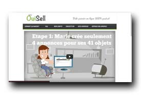 screenshot de www.ouisell.fr