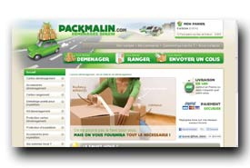 screenshot de www.packmalin.com
