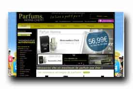 screenshot de www.parfumsmoinscher.com