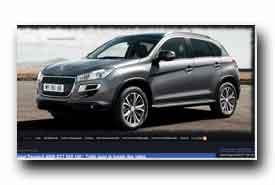 screenshot de www.peugeot4008.fr