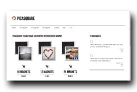 screenshot de www.picasquare.fr