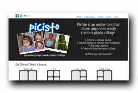 screenshot de www.picisto.com