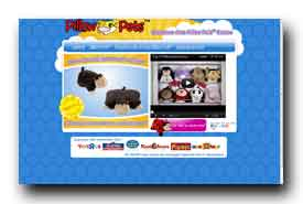 screenshot de www.pillowpets.fr