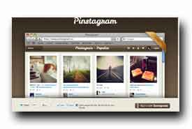 screenshot de www.pinstagram.co