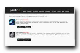 screenshot de pixlr.com/mobile/