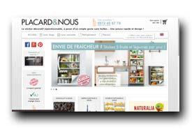 screenshot de www.placardetnous.fr