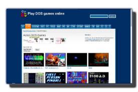 screenshot de playdosgamesonline.com