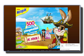 screenshot de www.playmobil.nesquik.fr