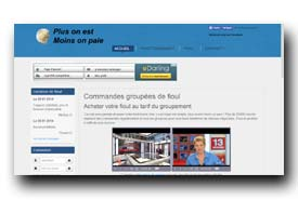 screenshot de www.plus-on-est-moins-on-paie.fr